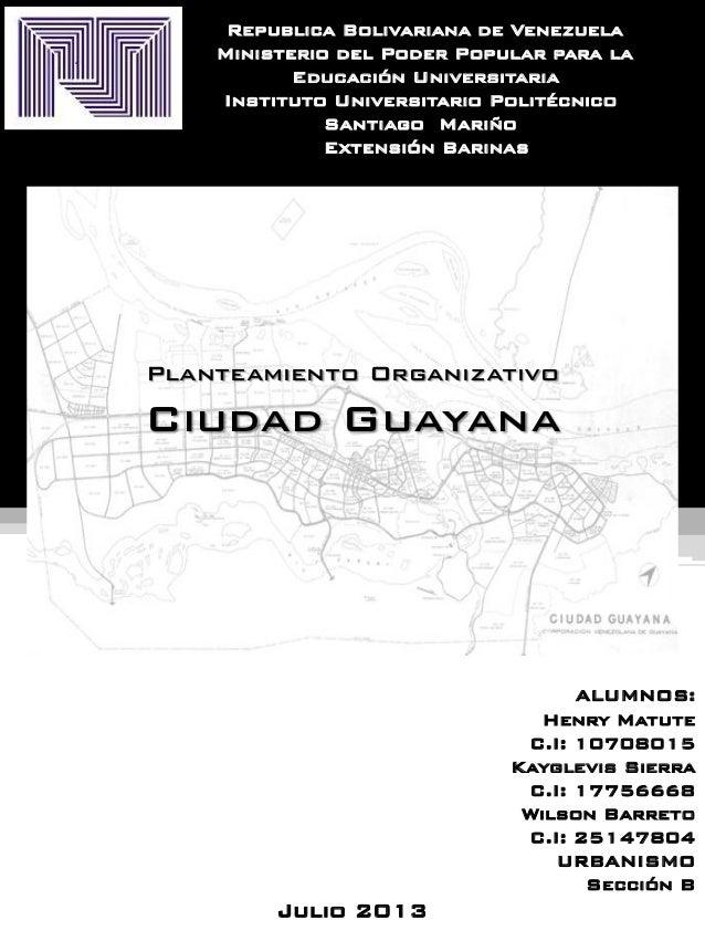 Republica Bolivariana de Venezuela Ministerio del Poder Popular para la E Educación Universitaria Instituto Universitario ...