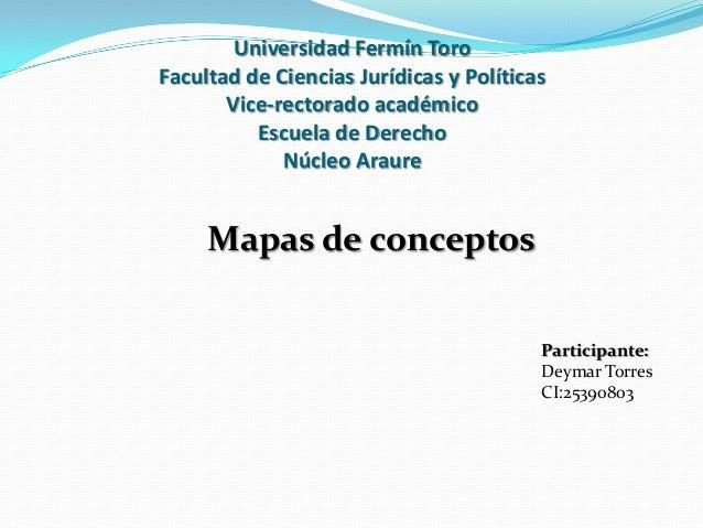 Universidad Fermín Toro Facultad de Ciencias Jurídicas y Políticas Vice-rectorado académico Escuela de Derecho Núcleo Arau...