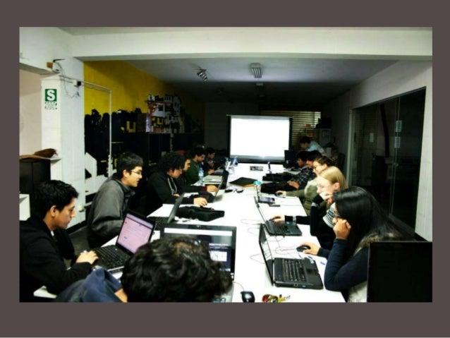 El laboratorio es un lugar orientado al desarrollo, por eso es impresindible el apoyo y colaboración de personas capacitad...