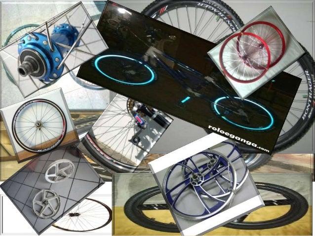 collage presentacion de los rines de la bicicleta