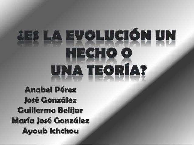 Anabel Pérez José González Guillermo Belijar María José González Ayoub Ichchou