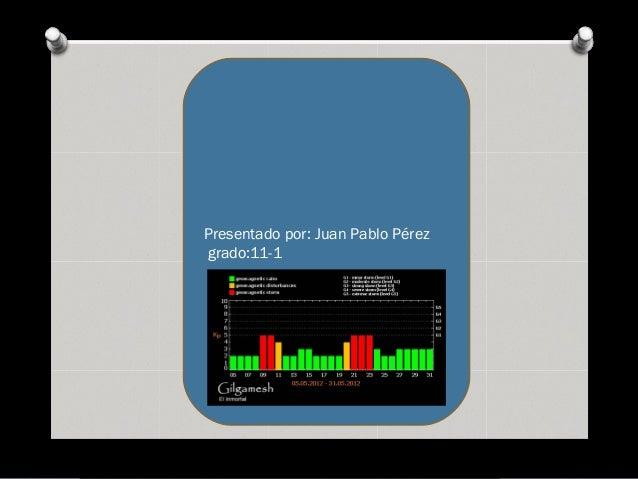Presentado por: Juan Pablo Pérez grado:11-1