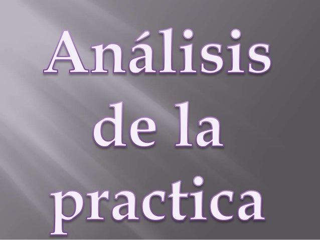 analisis de la pràctica