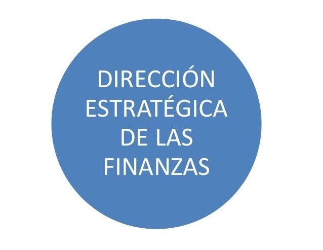 Business School IDE-CESEM. DIRECCIÓN ESTRATÉGICA DE LAS FINANZAS