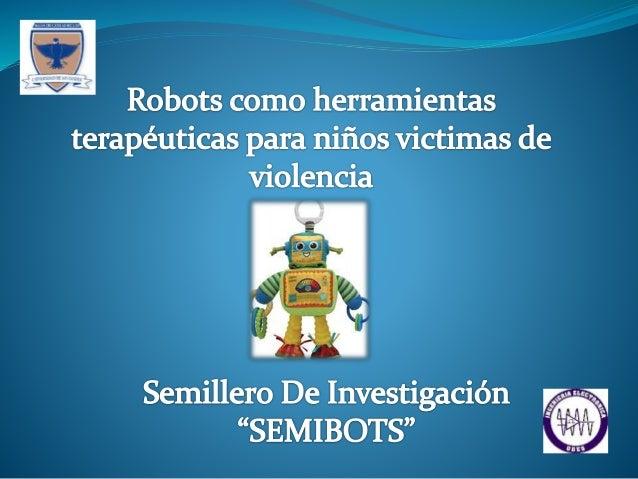 El proyecto pretende ofrecer una herramienta a los terapeutas para que un robot sea un canal de ayuda para resolver proble...