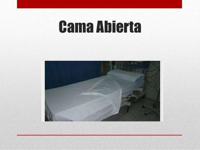 Tipos de camas hospitalarias for Cama abierta
