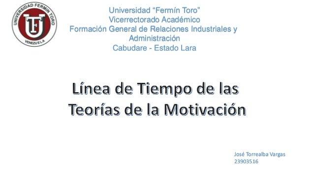"""Universidad """"Fermín Toro""""  Vicerrectorado Académico  Formación General de Relaciones Industriales y  Administración  Cabud..."""