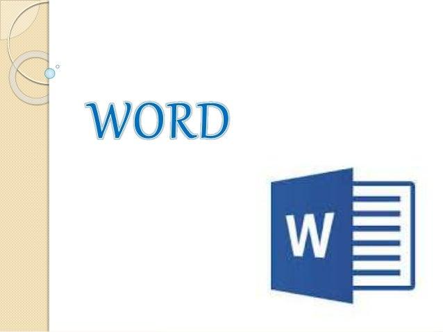 Microsoft Word es un software destinado al procesamiento de textos. Fue creado por la empresa Microsoft, y actualmente vie...