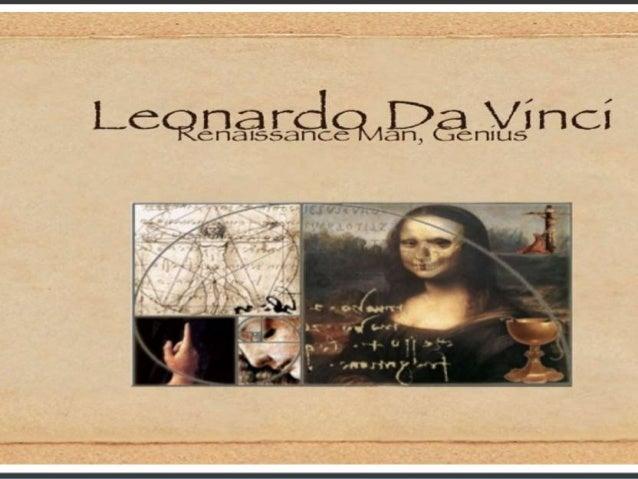 Vida y obra de Leonardo da vinci Alumno: Brayan Suarez 2año D Profesora: Andreina Reyes Febrero,2015