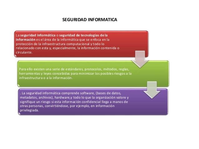 La seguridad informática o seguridad de tecnologías de la información es el área de la informática que se enfoca en la pro...