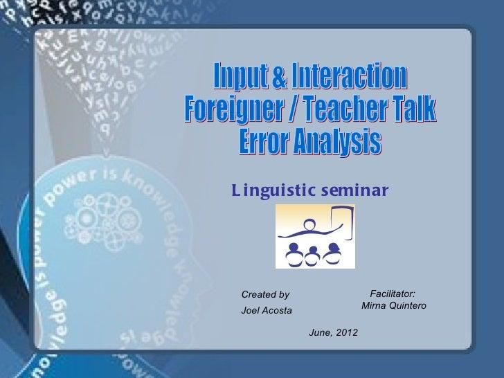 Presentación2.ppt input and interaction