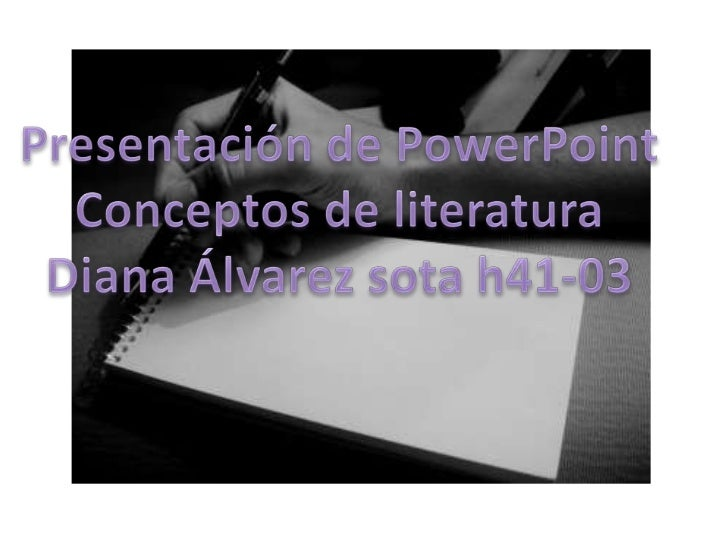 proyecto de literatura