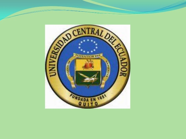 UNIVERSIDAD CENTRAL DEL          ECUADORFACULTAD DE FILOSOFIA, LETRAS Y CIENCIAS DE               LA EDUCACION      MAESTR...