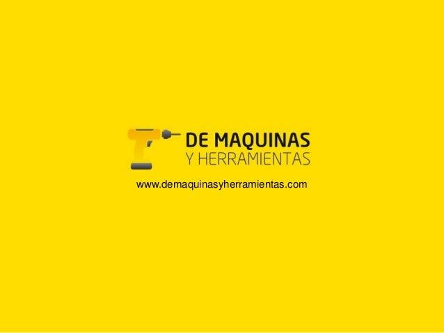 De Maquinas y Herramientas (Eng)