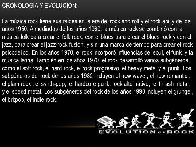 Presentaci n historia del rock for Espectaculo historia del rock