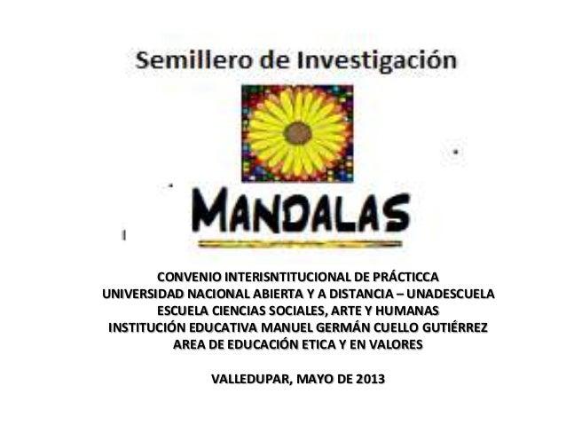 CONVENIO INTERISNTITUCIONAL DE PRÁCTICCA UNIVERSIDAD NACIONAL ABIERTA Y A DISTANCIA – UNADESCUELA ESCUELA CIENCIAS SOCIALE...