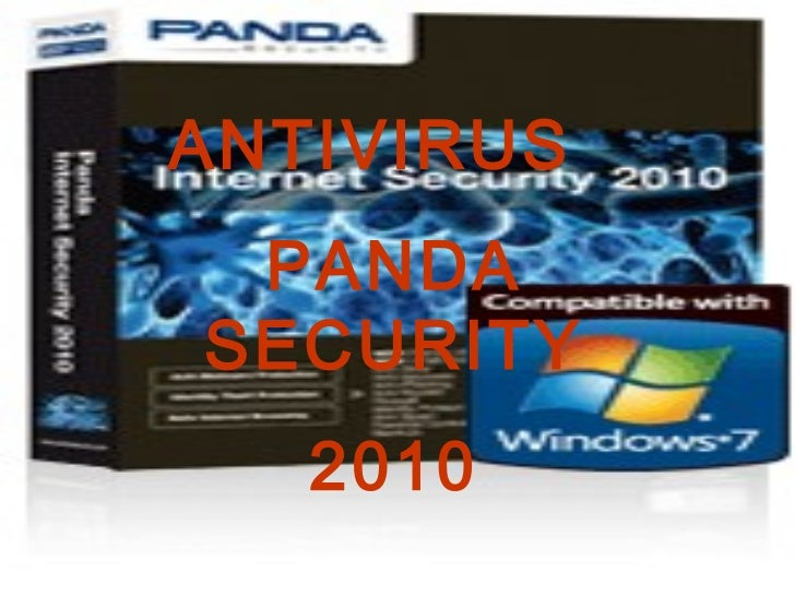 ANTIVIRUS  PANDA SECURITY 2010
