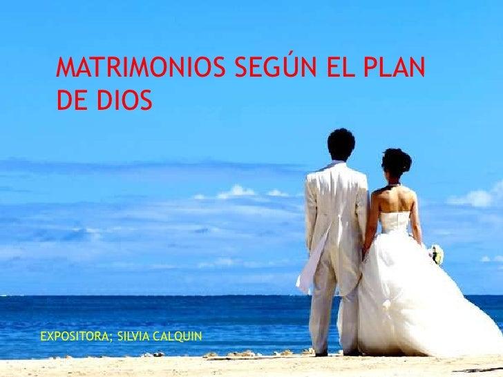 Matrimonio Y Familia En El Proyecto De Dios : Presentación matrimonios segun el plan de dios