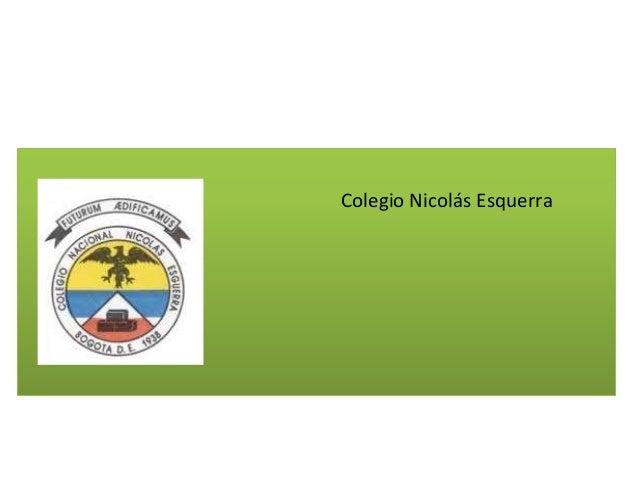 Colegio Nicolás Esquerra