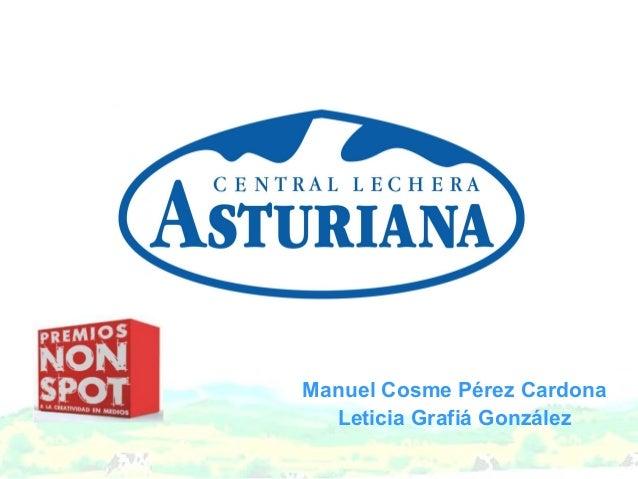 Manuel Cosme Pérez Cardona  Leticia Grafiá González