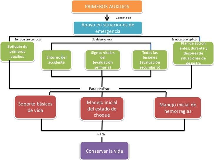 esquema general de primeros auxilios
