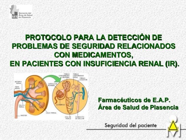 PROTOCOLO PARA LA DETECCIÓN DEPROTOCOLO PARA LA DETECCIÓN DE PROBLEMAS DE SEGURIDAD RELACIONADOSPROBLEMAS DE SEGURIDAD REL...