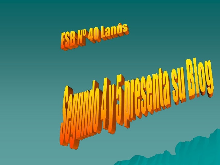 PresentacióN1 Sb40