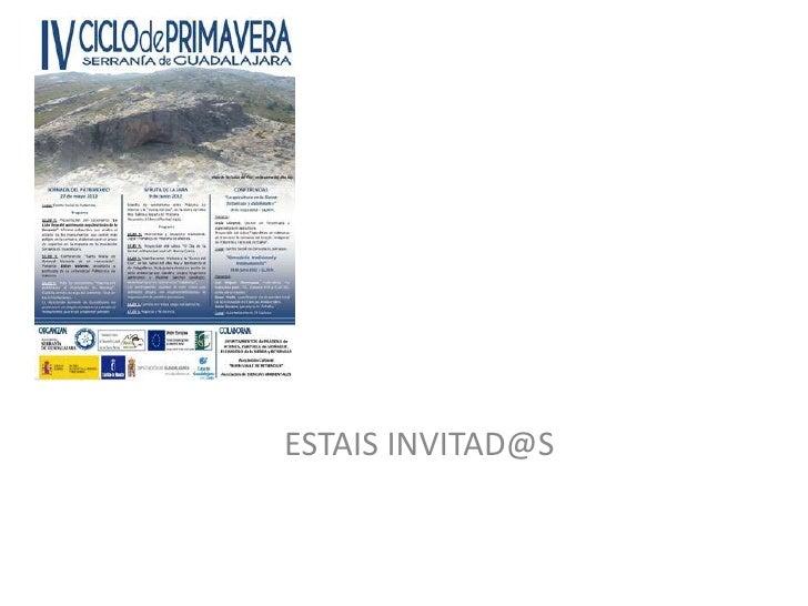 ESTAIS INVITAD@S
