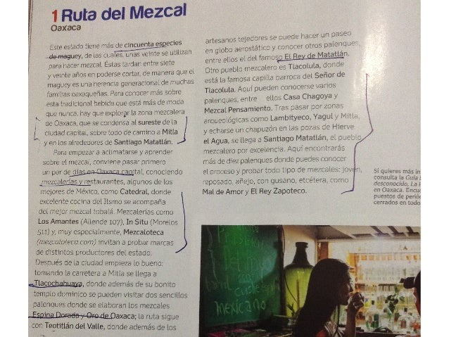 Reportaje Mexico Desconocido Rutas Gastronomicas