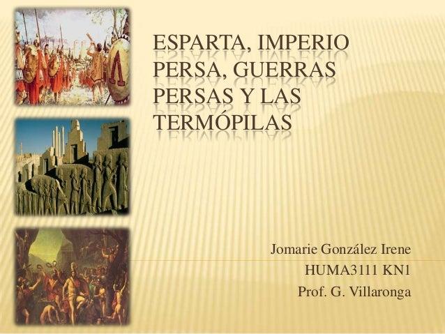 Esparta, Imperio Persa, Guerras Persas y Las Termopilas