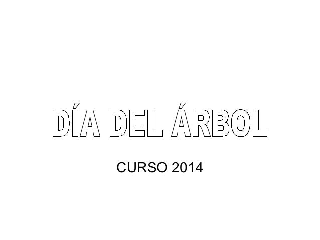 CURSO 2014