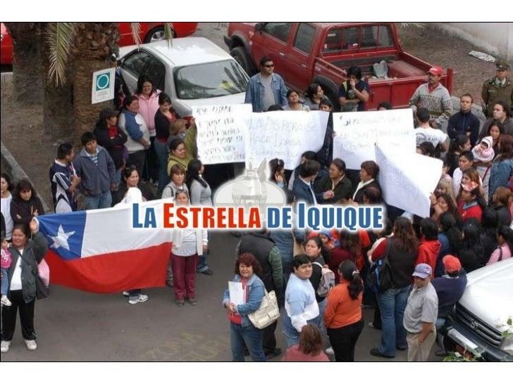 Pobladores del Ex Vertedero protestan frente a Serviu