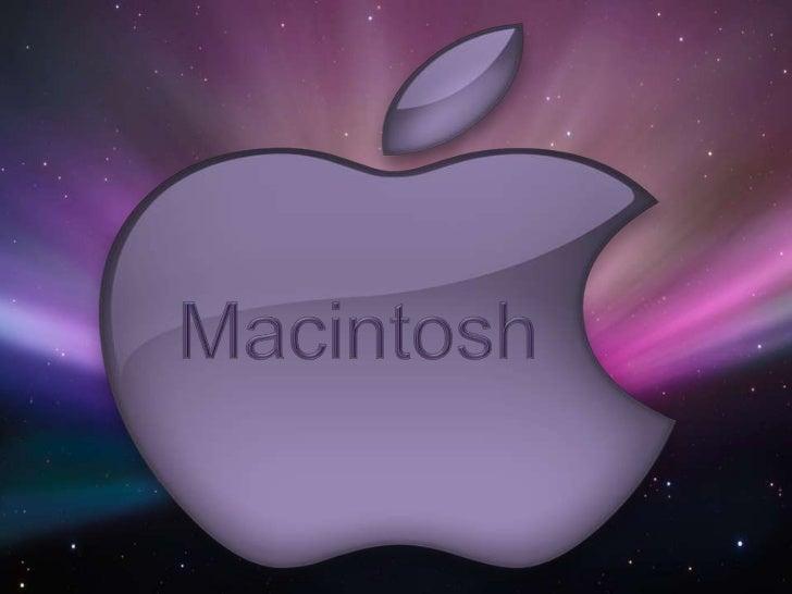 Macintosh<br />