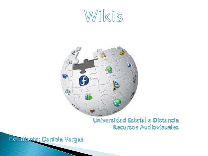 """Wiki se le da el significado de """"Rápido"""" es el primer sitio de Internet.Wikis permite y mejorar las paginas de forma insta..."""