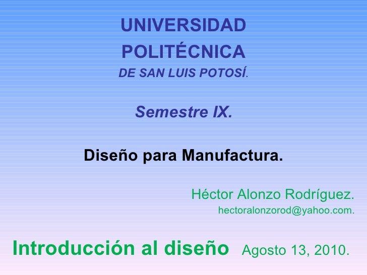 Presentación 3   dp m - otoño 2010 - 2