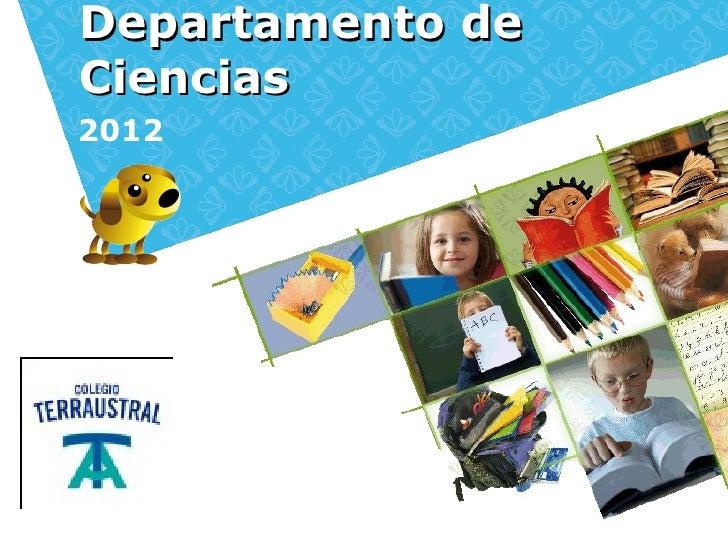 Departamento deCiencias2012