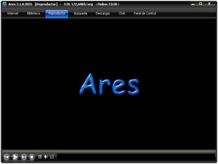 ARES   Ares Galaxy, popularmente conocido    comoAres, es un    programaP2Pdecompartición de    archivoscreado a med...