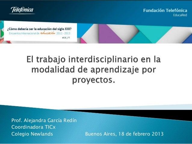 Presentación de María Alejandra García Redín para Tema 6 #EIE_FT en Buenos Aires