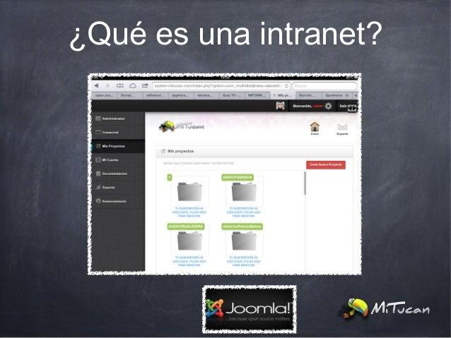 ¿Qué es una intranet?