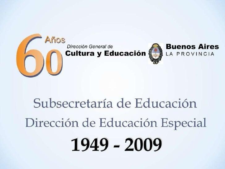 Presentación 60 años dee