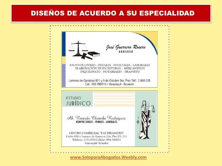 DISEÑOS DE ACUERDO A SU ESPECIALIDAD<br />www.SoloparaAbogados.Weebly.com<br />