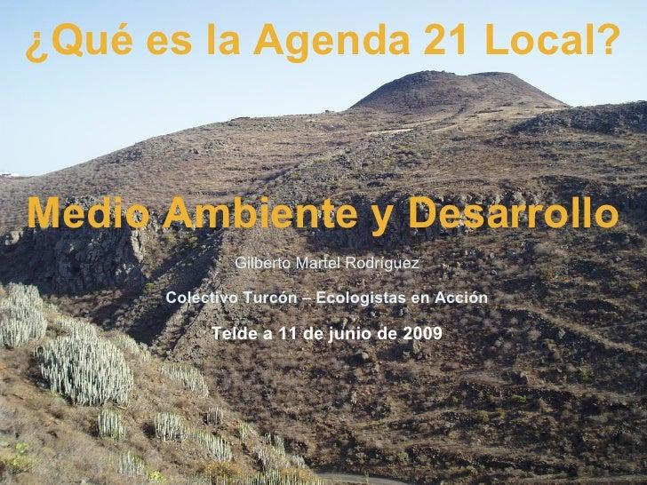PresentacióN Agenda 21
