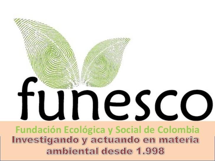 Fundación Ecológica y Social de Colombia