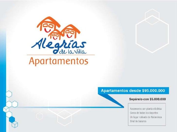 Presentación alegrias apartamentos