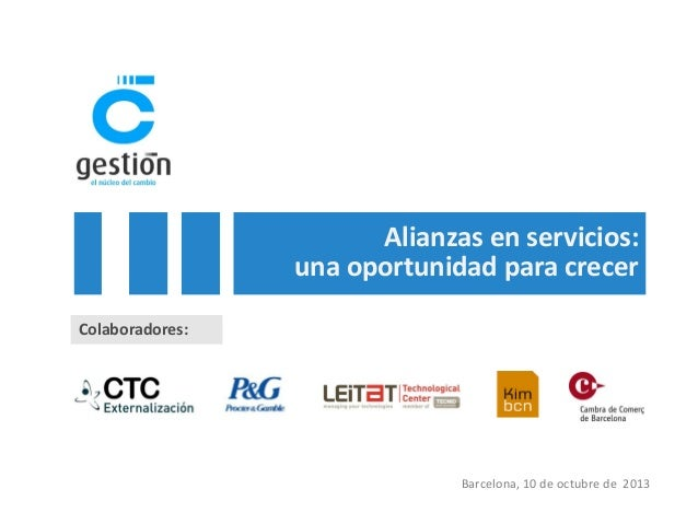 Alianzas en servicios: una oportunidad para crecer - Ignasi Sayol