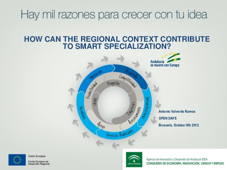 HOW CAN THE REGIONAL CONTEXT CONTRIBUTE        TO SMART SPECIALIZATION?                            Antonio Valverde Ramos ...
