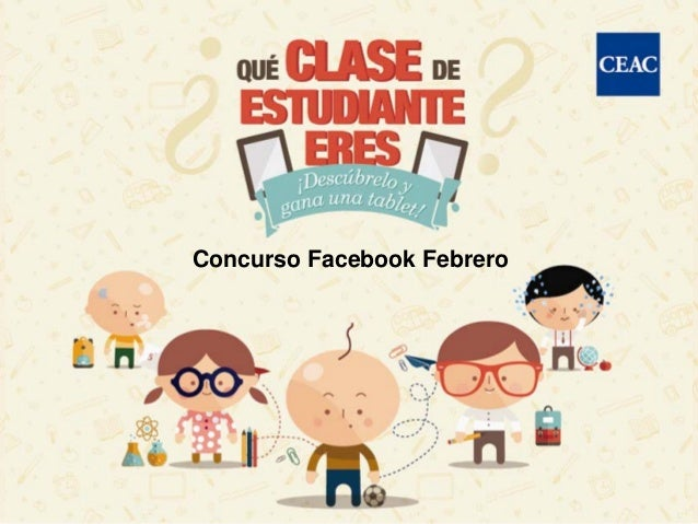 Concurso Facebook Febrero