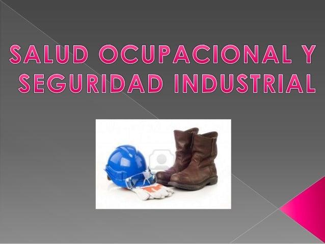 Tips Seguridad Industrial Seguridad Industrial y Salud