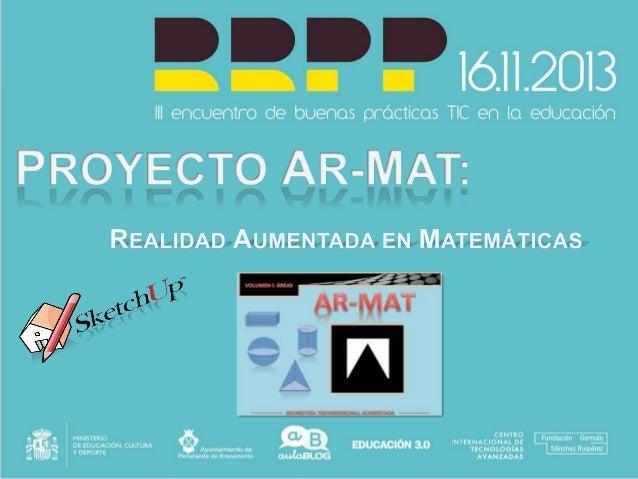 AR-MAT: Realidad aumentada en matemáticas
