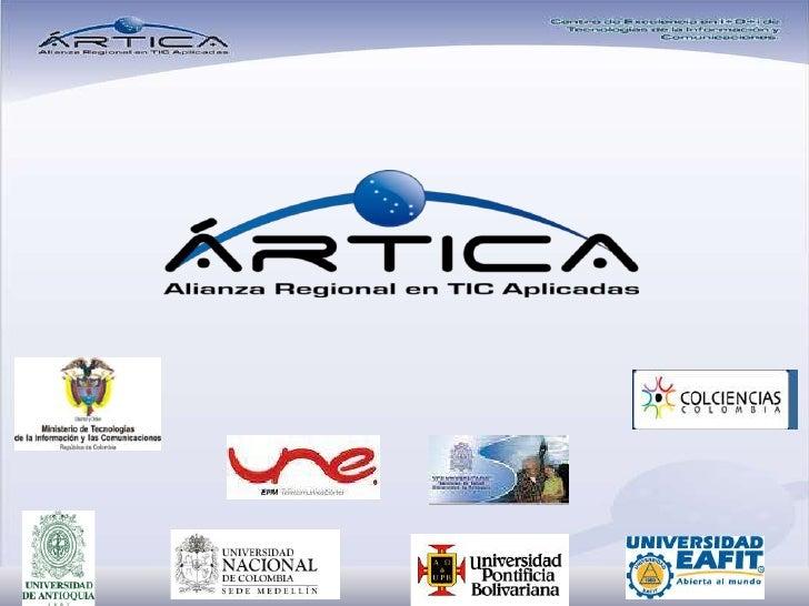 ARTICA, Alianza Regional en TIC Aplicadas